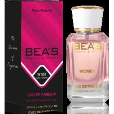 BEA'S EAU DE PARFUM Pour Femme W551 La Ve Este
