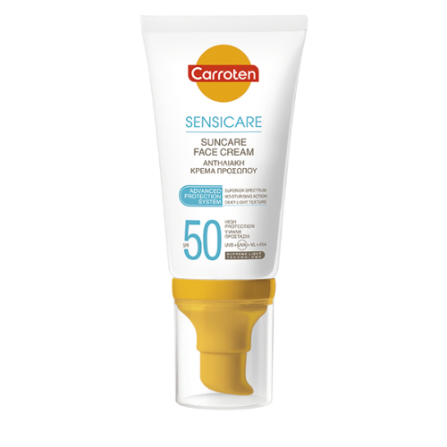 Carroten Suncare Face Cream SPF50