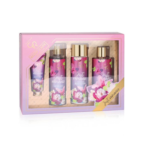 Golden Rose Body Care Collection - Just Romance