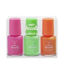 Golden Rose Miss Beauty Colorpop Trio Nail Color