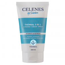 Celenes Thermal 3 In 1 1. Cleanser 2. Scrub 3. Mask – All Skin Types