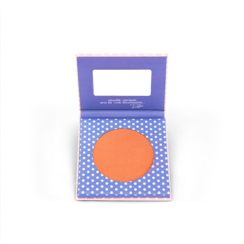 The Pink Ellys Compact Blusher Coy 02